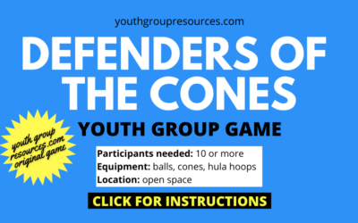 Defenders Of The Cones Game