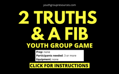 Two Truths And A Lie Game Instructions