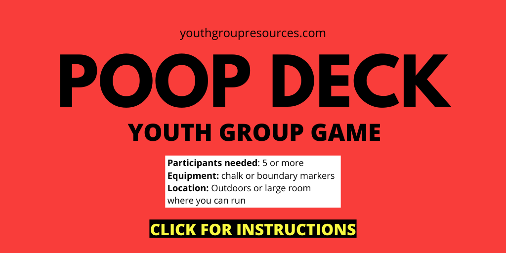 Poop Deck Game Instructions | Youth Group Games | Games For Youth | No Prep Games
