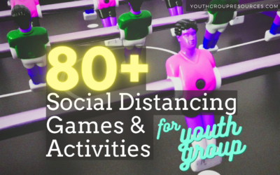 Social Distancing Games For Youth Group