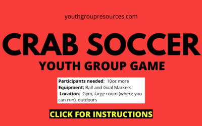 Crab Soccer Game Instructions